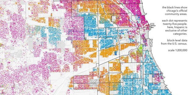 Where we are: Mapping Chicago's racial divisions