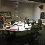 Picture of students in studio