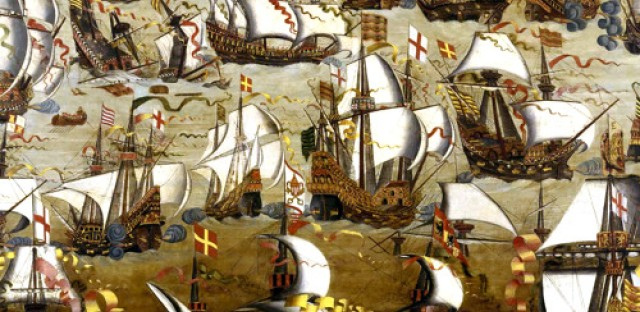 World History Moment: The defeat of the Spanish Armada