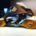 A BMW concept car imagines a world where the driver only occasionally takes the wheel.