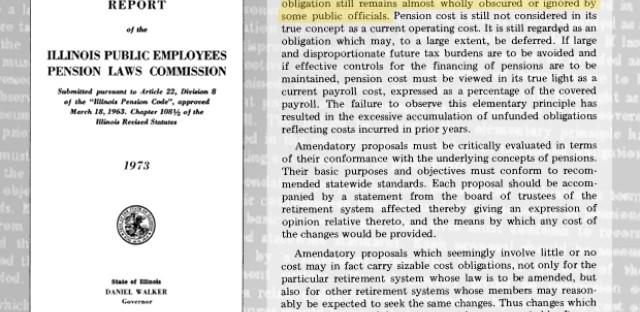 Illinois pension problems go back decades