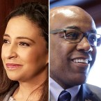 Republican attorney general candidate Erika Harold (left) says she would not commit to pursing possible cases of wrongdoing against the Rauner administration while Democratic candidate Kwame Raoul says he believes an investigation is warranted.