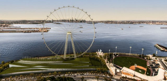 NYC wants a turn: Big Apple seeks to build world's largest Ferris wheel