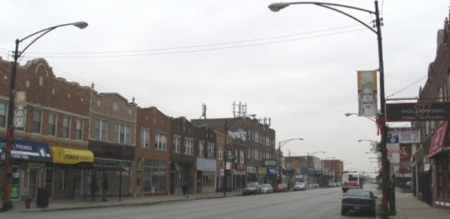 Archer Avenue commercial strip