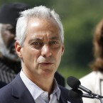 Mayor Rahm Emanuel speaks during a news conference Aug. 3, 2016, in Chicago.
