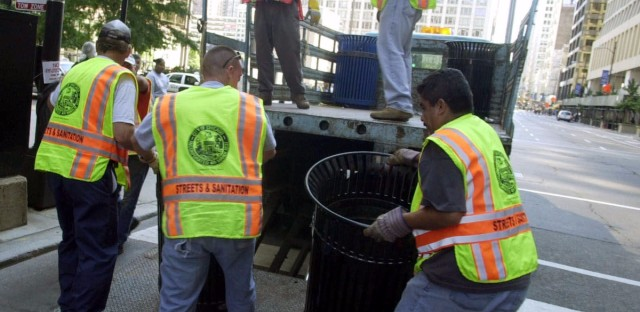The city of Chicago is charging some residents double or even triple what they're supposed to pay for garbage pickup.